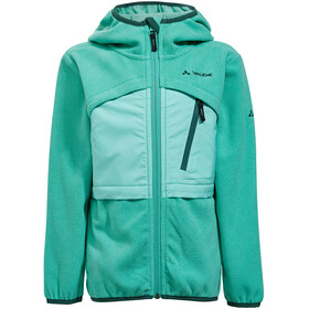 VAUDE Katmaki II Fleece Jas Kinderen, peacock